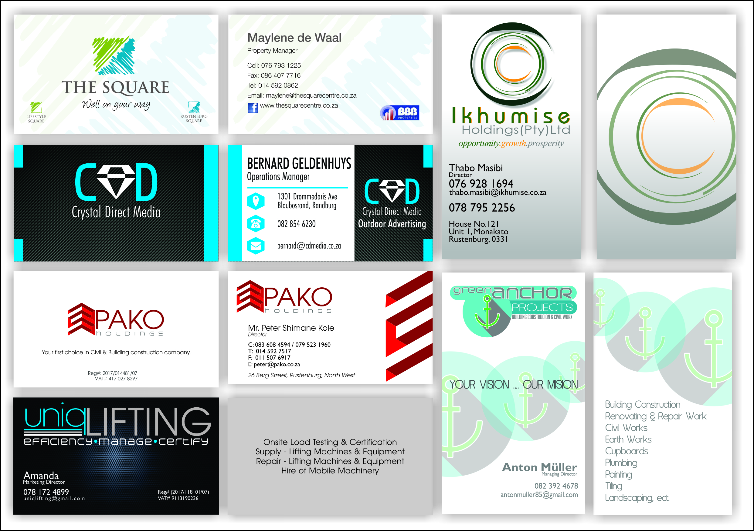 Business cards woodmead images card design and card template business cards randburg gallery card design and card template print studio business cards reheart gallery reheart reheart Gallery